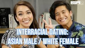 Interracial white on asian