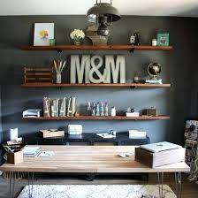 office bookshelves designs. Home Office Shelving Ideas Install These Industrial Inspired Wood Shelves In Your For A . Bookshelves Designs E