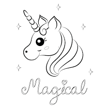 Cute Unicorn Coloring Pages Cute Unicorn Coloring Pages Cute Girl