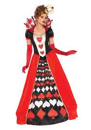 women s deluxe queen of hearts costume
