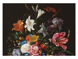 Fotobehang Bloemen Golden Age Flowers 5 3896 X 280 Cm Kek Amsterdam