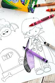 Coloring Pages Raising Our Kids Little Kid Halloween Free Printable