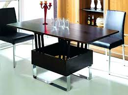 dining table coffee convertible tables black di