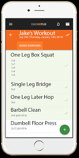 Fitness Personal Training Software Coachmeplus