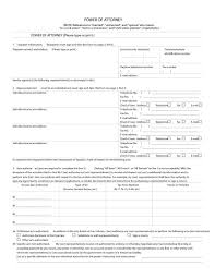 blank power of attorney 50 free power of attorney forms templates durable medical general
