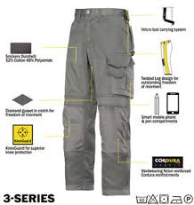 Snickers Trousers Size Chart Details About Snickers Trousers 3312 3 Series Work Trousers Snickers Direct Grey