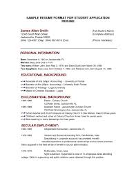 How To Write Academic Resume Unique How To Writeic Resume Sports Achievements In An For High 13