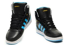 adidas shoes high tops for men. adidas sms high top men shoes black blue tops for