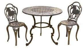 cast iron patio garden furniture sets