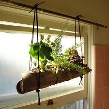 Window Herb Garden Ideas  Inspirational Creative Diy Indoor Hanging Planter  Beside Window Ideas