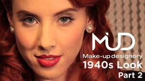 makeup with image with 1940s makeup step by step with 1940s makeup tutorial part 2