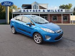 used 2016 ford fiesta in