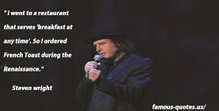 Steven Wright Quotes Beauteous Steven Wright Quotes And Sayings