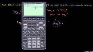 Logaritmada Taban Değiştirme Formülü (video)