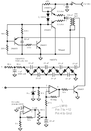 high voltage circuits schematic