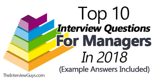 interview for hr position questions and answers top 10 interview questions for managers in 2018 example answers