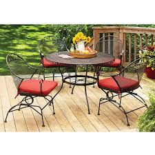 Better Homes And Gardens Kitchen Table Set Kitchen Table And Chair Sets At Walmart Walmart Patio Table And