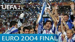 UEFA EURO 2004 final: Greece 1-0 Portugal highlights - YouTube