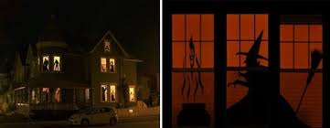diy halloween decorations home. Haunted House Silhouettes Diy Halloween Decorations Home A