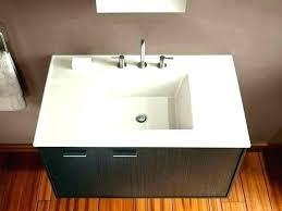 drop in sink bathroom square sinks kohler