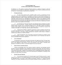 Consulting Contract Template Free Download 25 Consultant Agreement Templates Word Docs Free