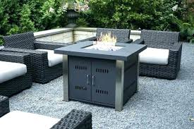 medium size of natural gas fire pit table and chairs dining with outdoor set round fireplace