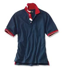 loyal to the red white blue polo