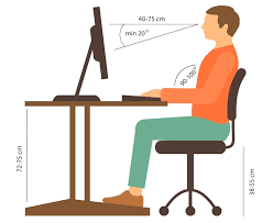 sitting desk height sitting desk height calculator standard sitting desk height match your chair to your desk