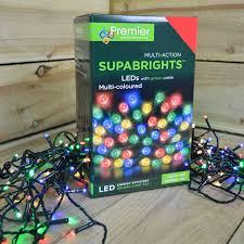 Supabright Led Lights String Fairy Lights Various Sizes Colours Premier Multi