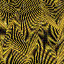 Abstract Naadloos Moirépatroon Met Zigzaglijnen Gouden Grafisch