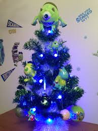 Monsters Inc Christmas tree
