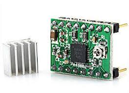 generic a4988 3d printer reprap stepper motor driver module works with official arduino green