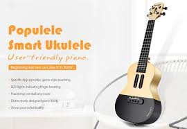 <b>Populele APP LED</b> Bluetooth USB Smart Ukulele From <b>Xiaomi</b> | Wish
