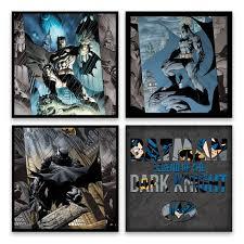 entertainart 4 pack dc comics batman