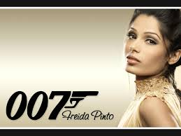 Freida pinto next bond girl