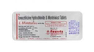 Buy L Montus Kid, Levocetirizine/ Montelukast Online - buy-pharma.md