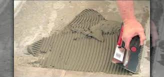 how to lay tile backsplash how to install ceramic tile on concrete using mortar a construction