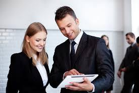 Business People Tablet Dubai Gem Private School
