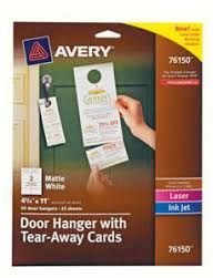 Avery Greeting Cards Avery Half Fold Greeting Cards Micro Center