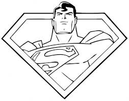 Superman coloring pages for kids. To Mau Cho Be