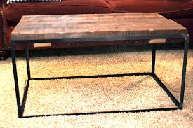 diy metal furniture. A DIY Metal And Barn Wood Coffee Table Diy Furniture