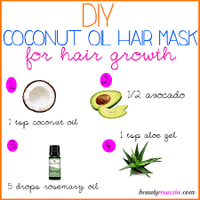 diy coconut oil hair mask for hair growth more