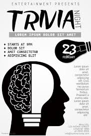 Trivia Night Flyer Template Postermywall