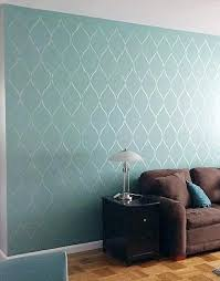Budget Stencils Living Room Wall Stencils Designs Katzenwelt Info