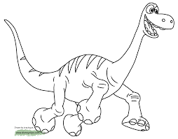 Small Picture The Good Dinosaur Coloring Pages Disney Coloring Book