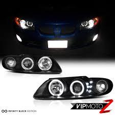 Gto Fog Lights Details About 04 05 06 Pontiac Gto Black Led Halo Angel Eye Projector Headlight Lamp Ls1 Ls2