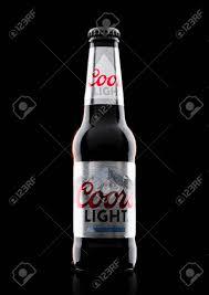 Coors Light Prices Uk London Uk November 03 2017 Bottle Of Coors Light Beer On