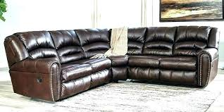 leather nailhead sectional zoom black leather sectional with nailhead trim