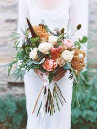 The Prettiest Fall Wedding Bouquets, Ever