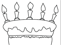 Birthday Cake Coloring Pages To Print For Adults Page Book Wedding